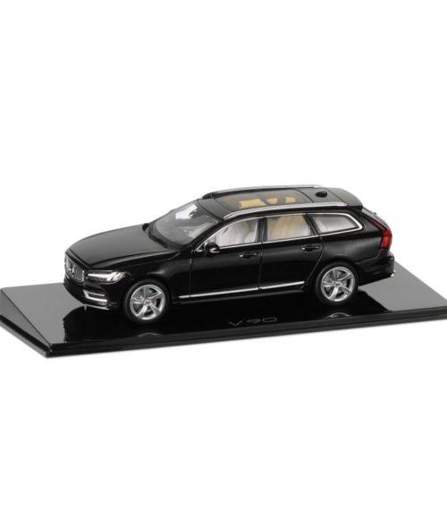 Volvo V90 miniature 1:43 Noir