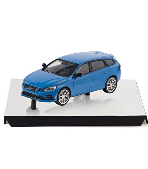 Volvo V90 miniature 1.43 Argent Electrique