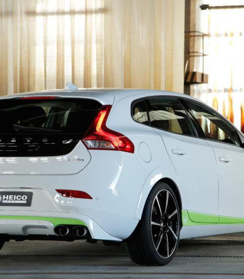 heico-sportiv-volvo-v40-525-stripes-green-rear-1