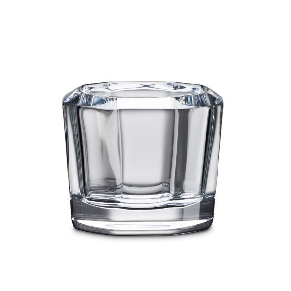 vide-poche octogonal en cristal