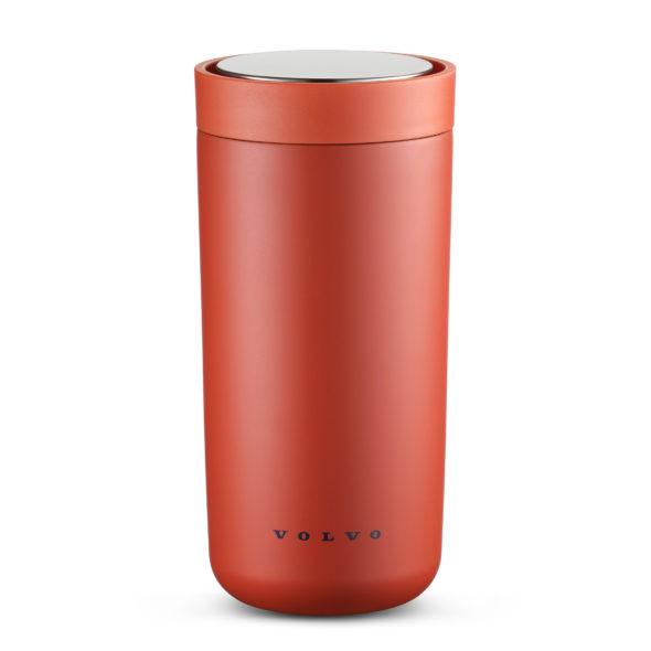 Tasse en acier inoxydable rouge 400 Ml