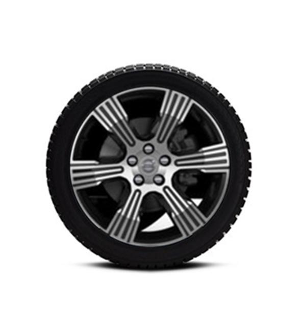 Roues Complètes XC40 – 18″ Black Diamond Cut